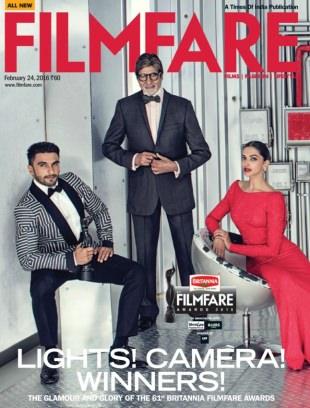 Filmfare February 24 2016 Magazine