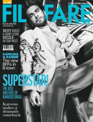 Filmfare May 18 2016 Magazine