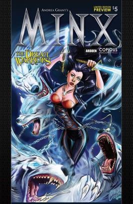 Minx The Dream Warriors - Limited Edition PREVIEW Magazine