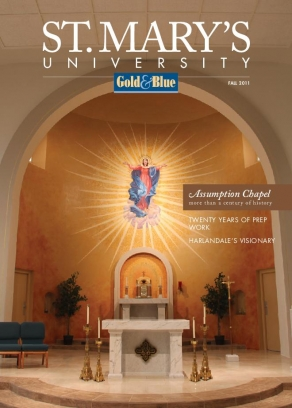 St. Mary's University Fall 2011 Magazine