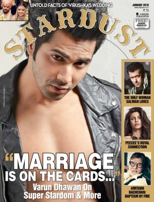 STARDUST INDIA January 2018 Magazine
