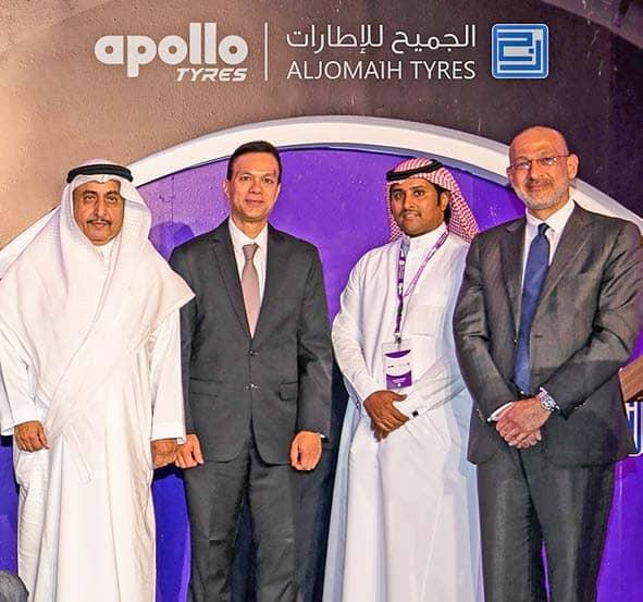 अपोलो टायर्स का सऊदी अरब में प्रवेश