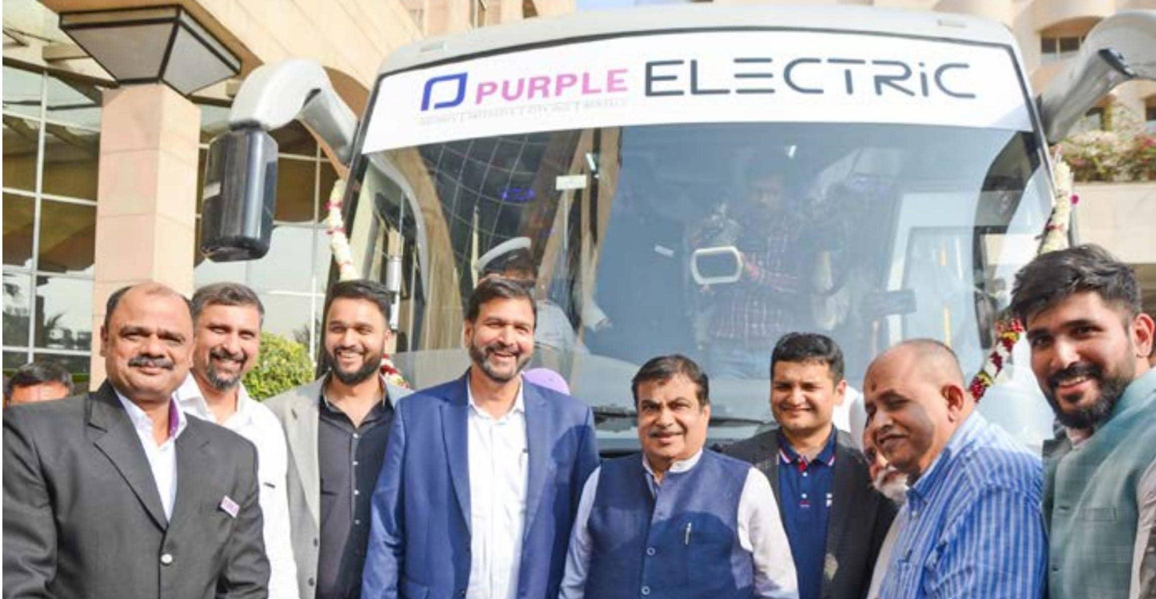प्रसन्ना पर्पल करेगी भारत की पहली इंटर-सिटी इलेक्ट्रिक बस सेवा का संचालन