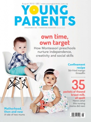 Young Parents Singapore Magazine August 2015 Issue Get Your