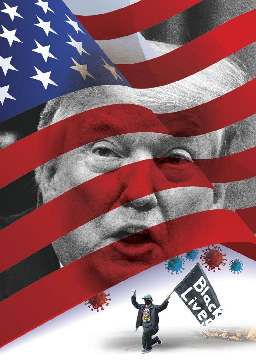 अमेरिका में राष्ट्रपति चुनाव 2020 ले डूबेंगे ट्रंप के तेवर