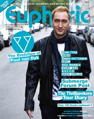 Euphoric magazine august september 2012 issue get your for Euphoric house music