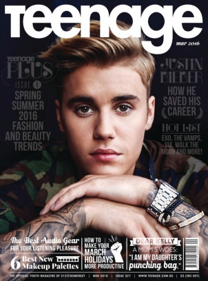 Teenage Magazine March 2016 issue – Get your digital copy