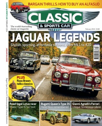 Classic Amp Sports Car Magazine February Issue Get Your - Classic and sportscar magazine