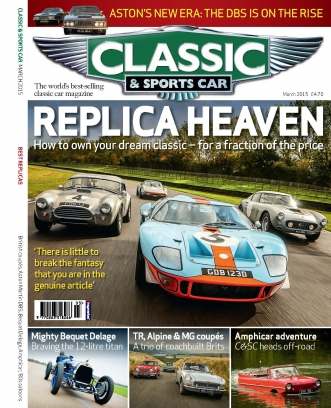Classic Amp Sports Car Magazine March Issue Get Your - Classic and sportscar magazine