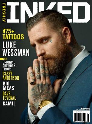 Freshly inked magazine august september 2013 issue get for Tattoo artist magazine download
