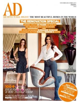 ad architectural digest india magazine november - december 2013