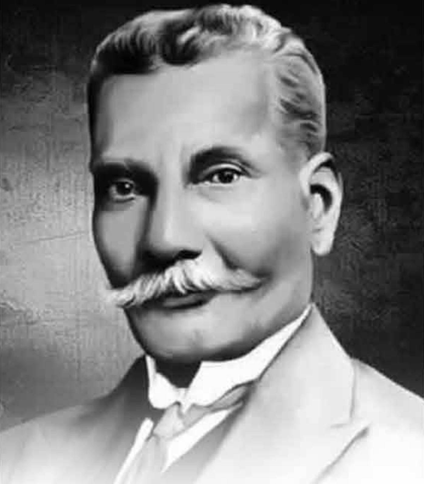 வட்டமேசை மாநாட்டில் பங்கேற்ற இரட்டை மலைசீனிவாசன் (கி.பி.1859-1945)