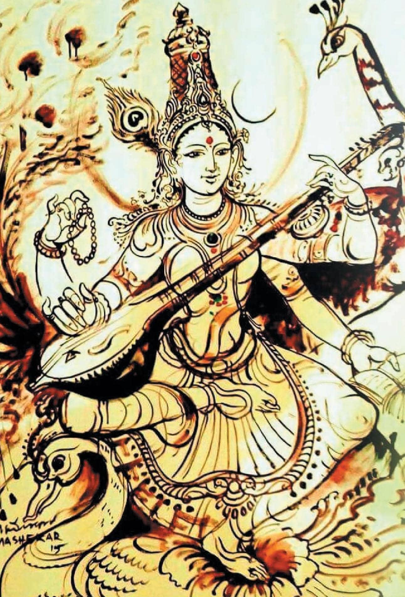 சகல வித்தைகளையும் அருளும் சரசுவதி அந்தாதி
