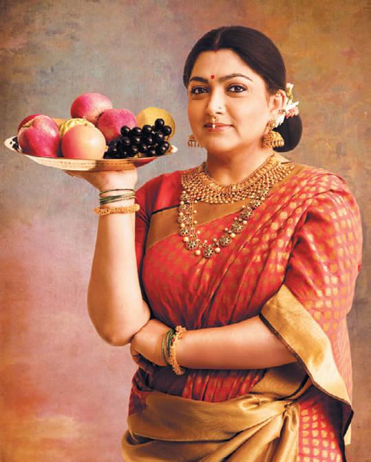ரவிவர்மா ஓவியமாக மாறிய நட்சத்திரங்கள்