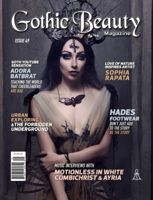 GOTHIC BEAUTY MAGAZINE - THE GOTHIC INFLUENCE ISSUE 10