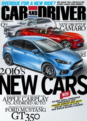 Car And Driver Magazine September Issue Get Your Digital Copy - Car and driver