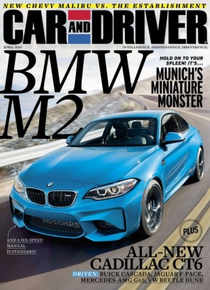 Car And Driver Magazine April Issue Get Your Digital Copy - Car and driver