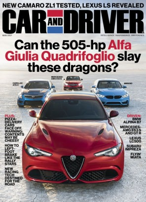 Car And Driver Magazine March Issue Get Your Digital Copy - Car and driver