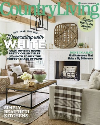 Country Living Magazine January February 2016 Issue Get Your Digital Copy