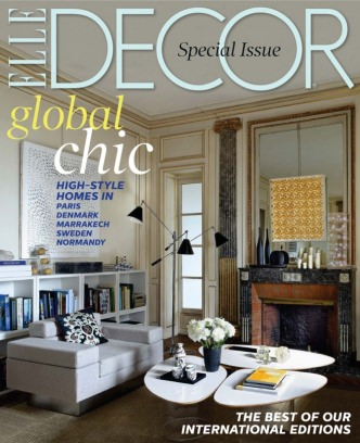 Elle decor magazine january february 2014 issue get for Elle deco magazine