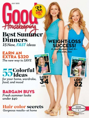 Good house keeping us magazine july 2013 issue get for Good house magazine