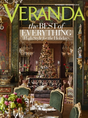 Image result for veranda magazine holiday covers