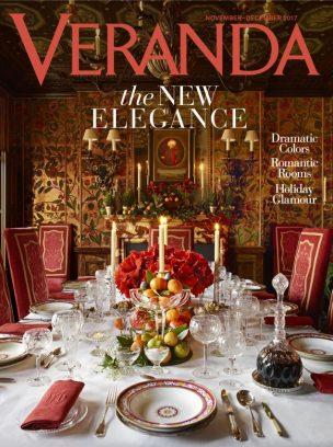 Veranda Magazine November/December 2017 issue - Get your digital copy