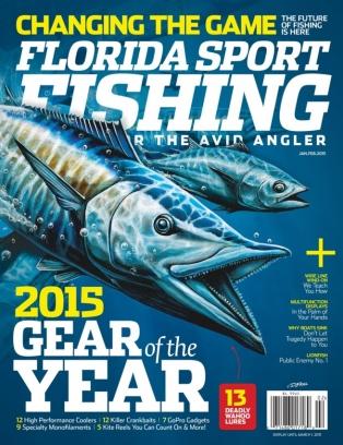 Florida sport fishing magazine january february 2015 for Sport fishing magazine