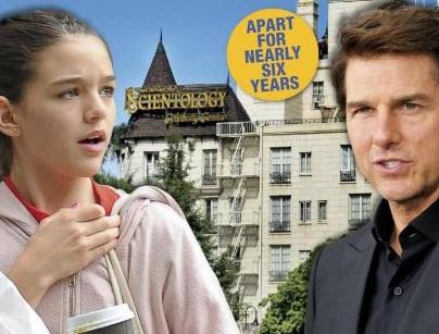 Tom Cruise Shuns Daughter Suri – For Scientology!