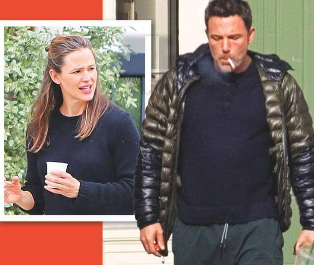JEN FUMES OVER BEN'S CIG HABIT! -SOURCES