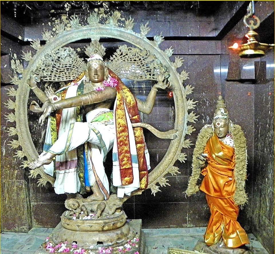 உலோகக் குழம்பில் உறைந்த நடராஜர்!