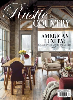 Romantic Homes Magazine Rustic Country Winter 2015 Issue