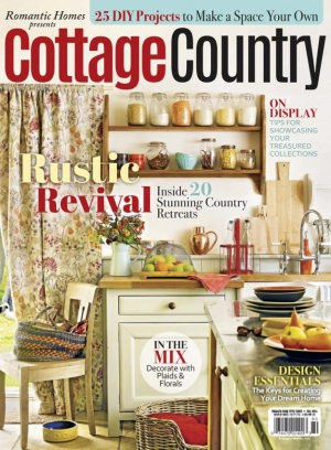 Romantic homes magazine cottage country fall 2016 issue for Home and cottage magazine