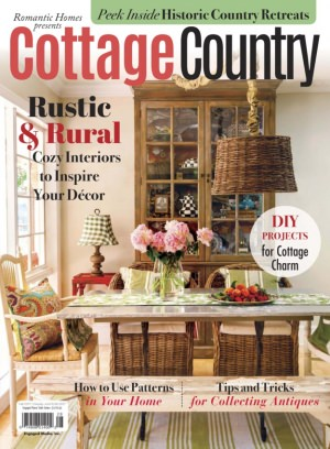 Romantic homes magazine cottages country fall 2017 issue for Home and cottage magazine