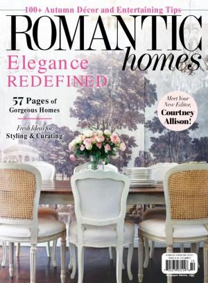 Romantic Homes Magazine Get Your Digital Subscription