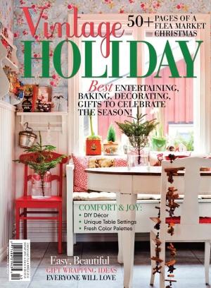 Flea Market D 233 Cor Magazine Vintage Holiday 2014 Issue