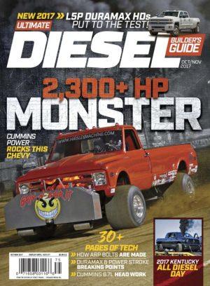 ultimate diesel builder guide magazine october november. Black Bedroom Furniture Sets. Home Design Ideas