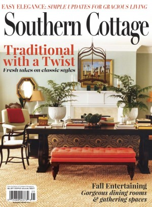 Cottages and bungalows magazine southern cottgaes fall for Home and cottage magazine