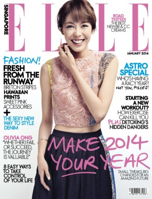 Elle singapore magazine january 2014 issue get your for Elle magazine this month