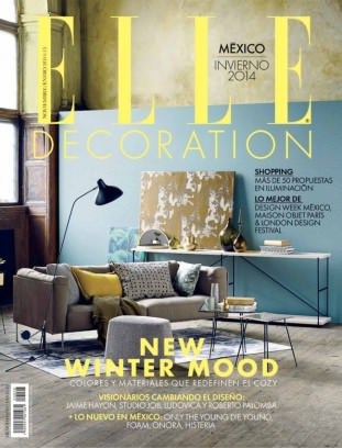 Elle decoration magazine invierno 2014 8 issue get for Elle deco magazine