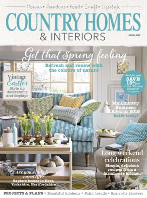 Country Homes And Interiors country homes & interiors magazine april 2015 issue – get your