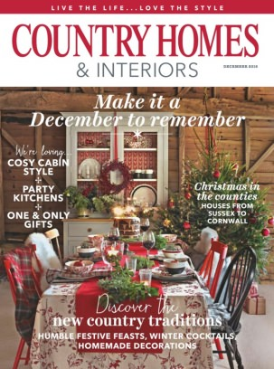 Country Homes And Interiors country homes & interiors magazine december 2016 issue – get