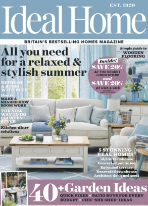 Ideal Home UK Magazine July 2017 issue - Get your digital copy