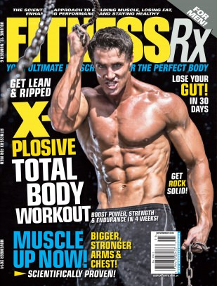 Fitness Rx For Men Magazine November 2017 Issue Get Your Digital Copy