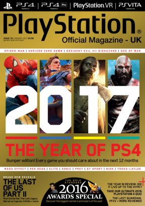 official playstation magazine january 2017 issue get your digital copy