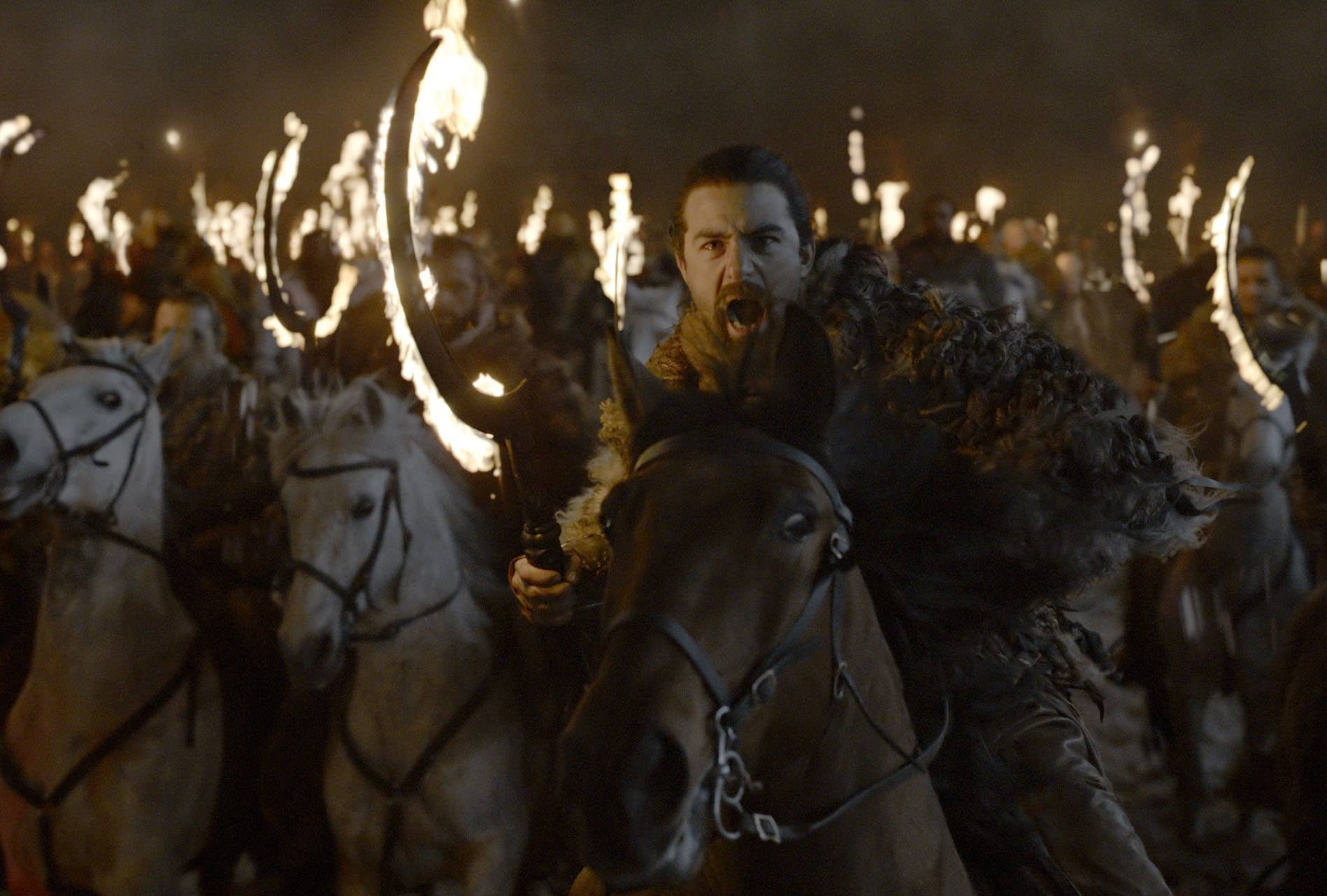 How Were The Flaming Dothraki Swords Created For Game Of Thrones Episode, The Long Night?