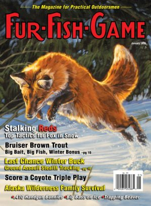 Fur fish game magazine january 2016 issue get your for Fur fish and game