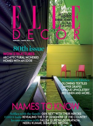 Elle Decor India Magazine February March 2015 Issue