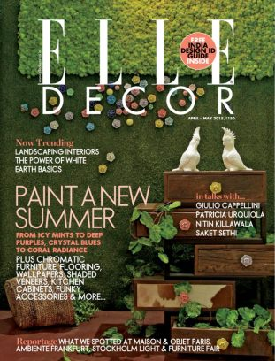 Elle Decor India Magazine April May 2015 Issue Get