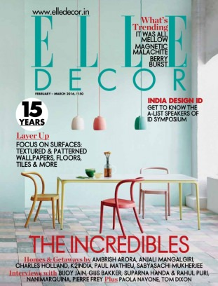 Elle Decor India Magazine February